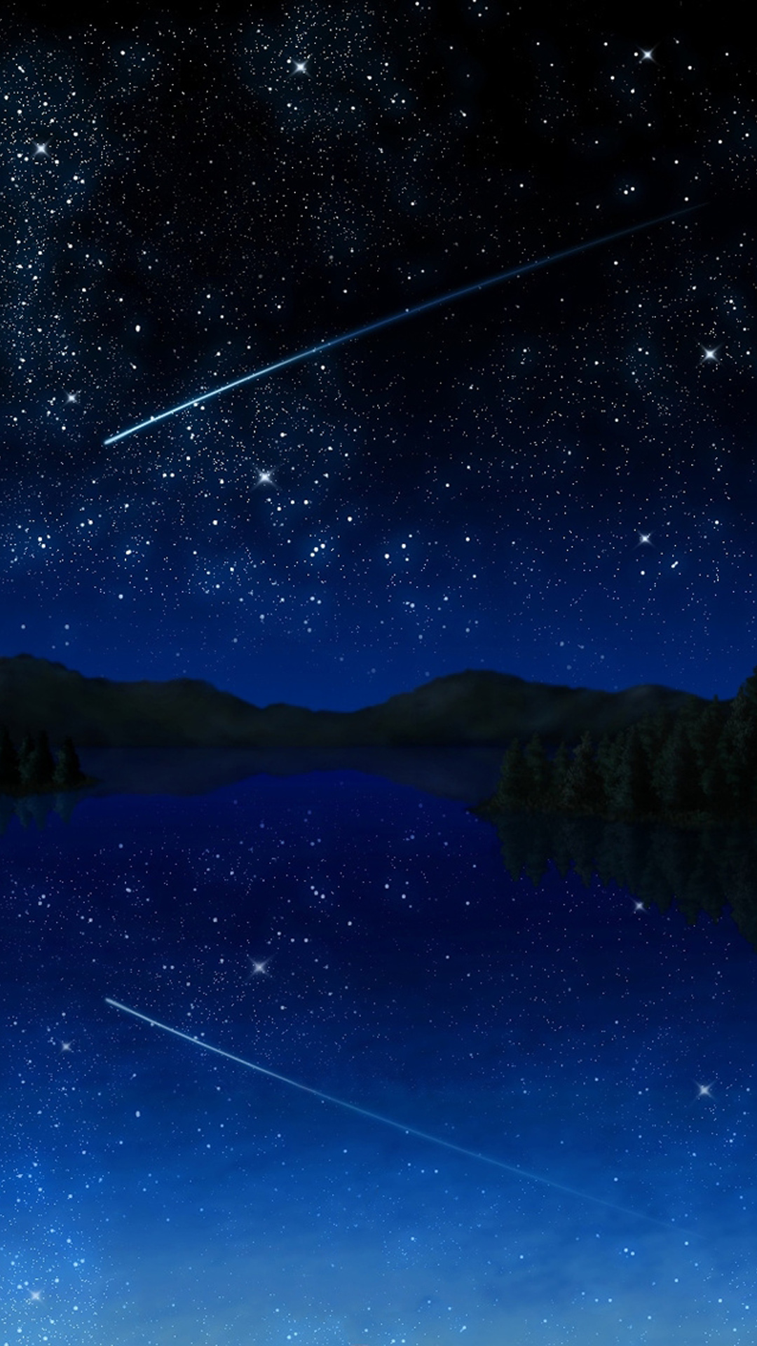 Shooting Star Sky Wallpapers for Galaxy S5 1080x1920
