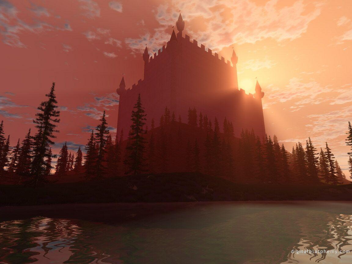 Avalon Castle   Fantasy Castles 1152x864