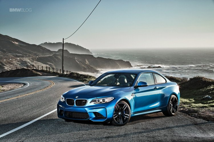awaited all new BMW M2 Coupe The Long Beach Blue M2 was in town 750x500