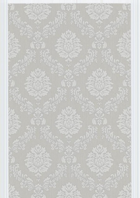 Costello Wallpaper   GrayWhite   Contemporary   Wallpaper   by Design 452x640