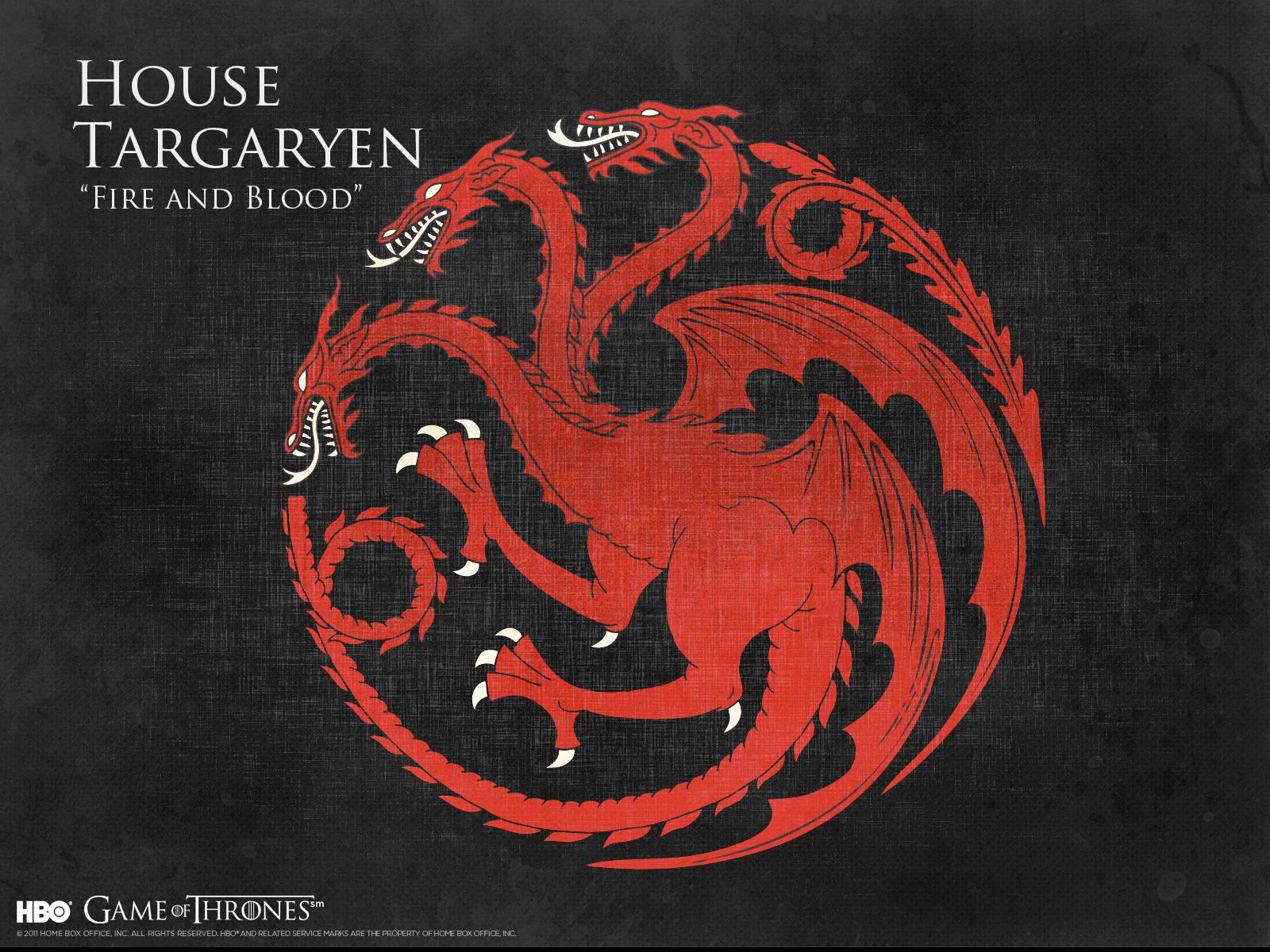 42] Targaryen Sigil Wallpaper on WallpaperSafari 1600x1200
