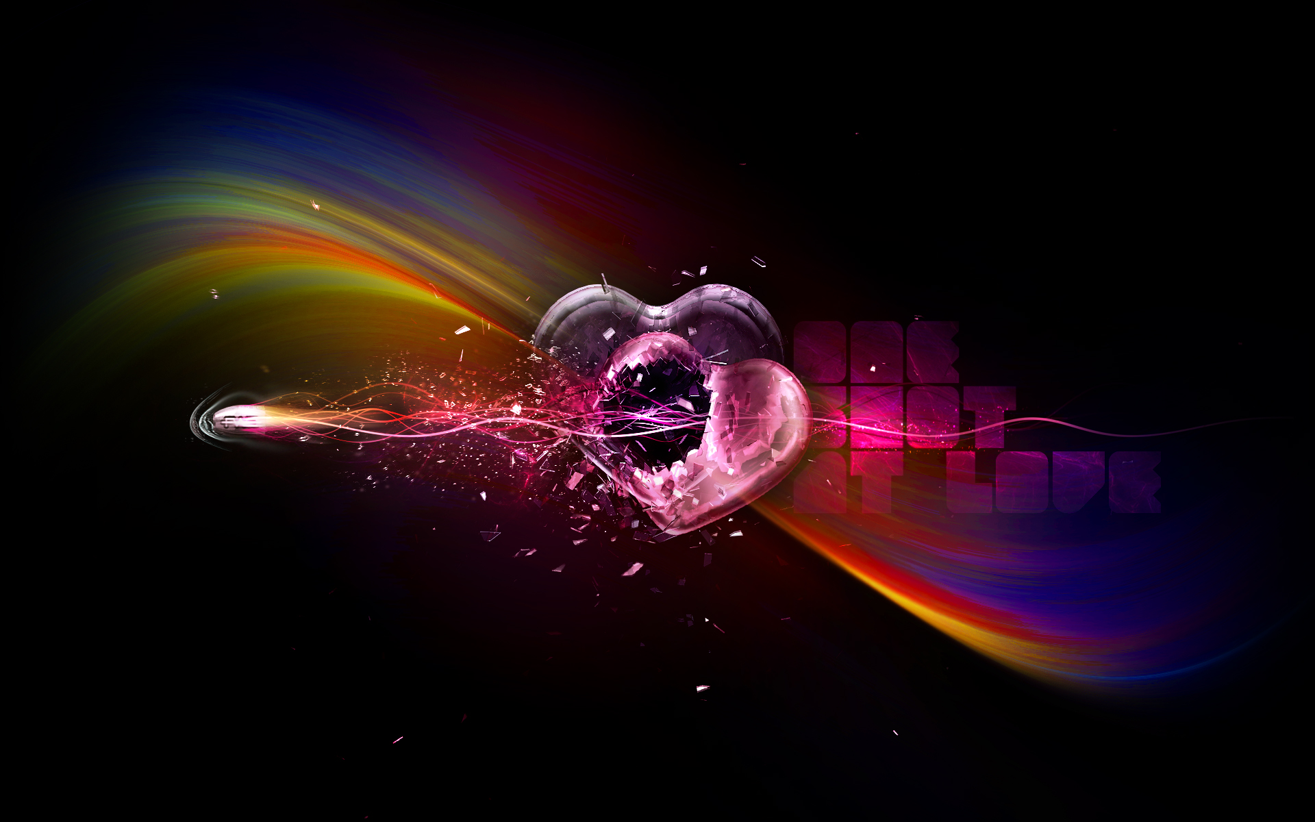 Broken heart wallpaper 1920x1200