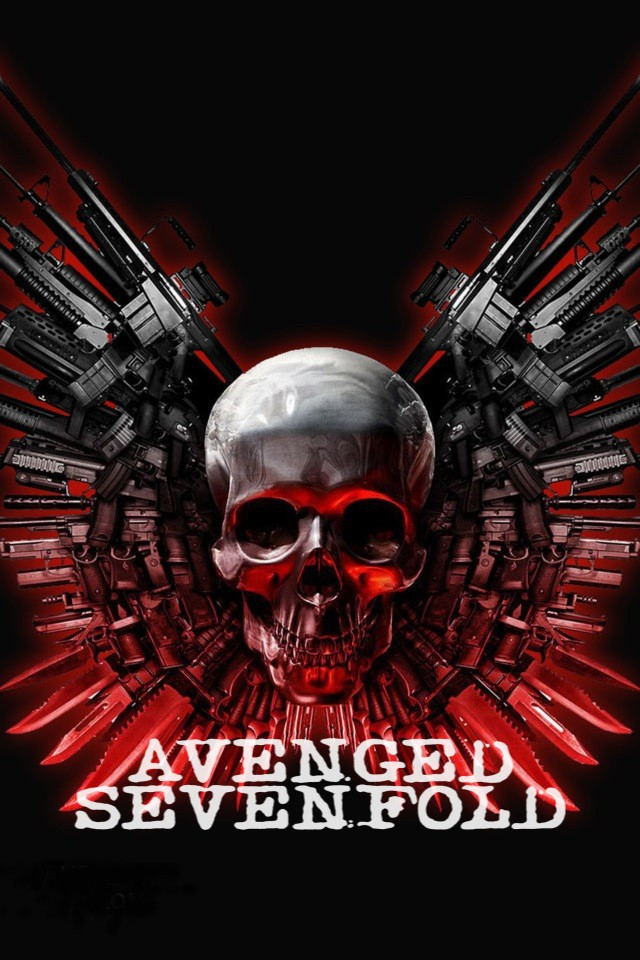 48 Avenged Sevenfold Phone Wallpaper On Wallpapersafari