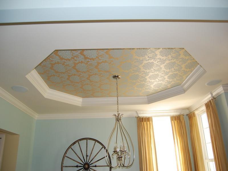 Ceiling Wallpaper Designs Joy Studio Design Gallery Best