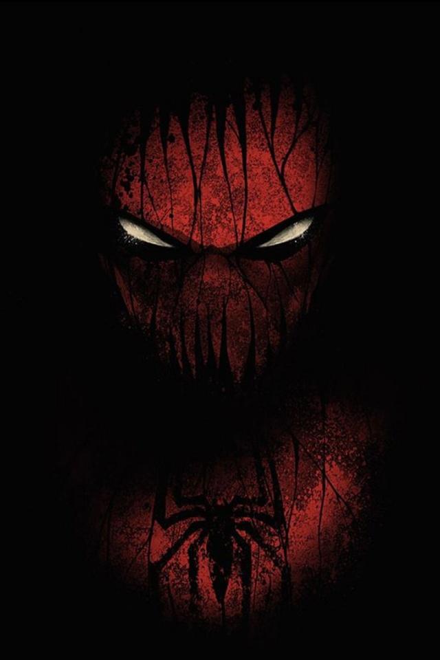 640x960 Spider man Mask Iphone 4 wallpaper 640x960