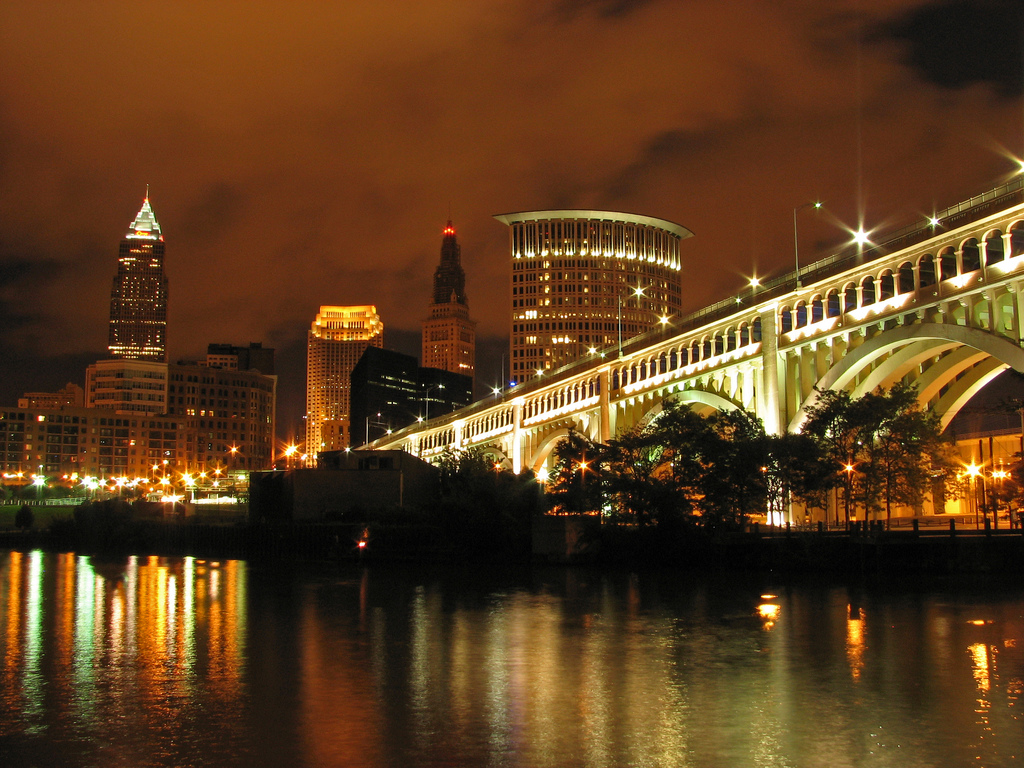 downtown cleveland ohio wallpaper - photo #3