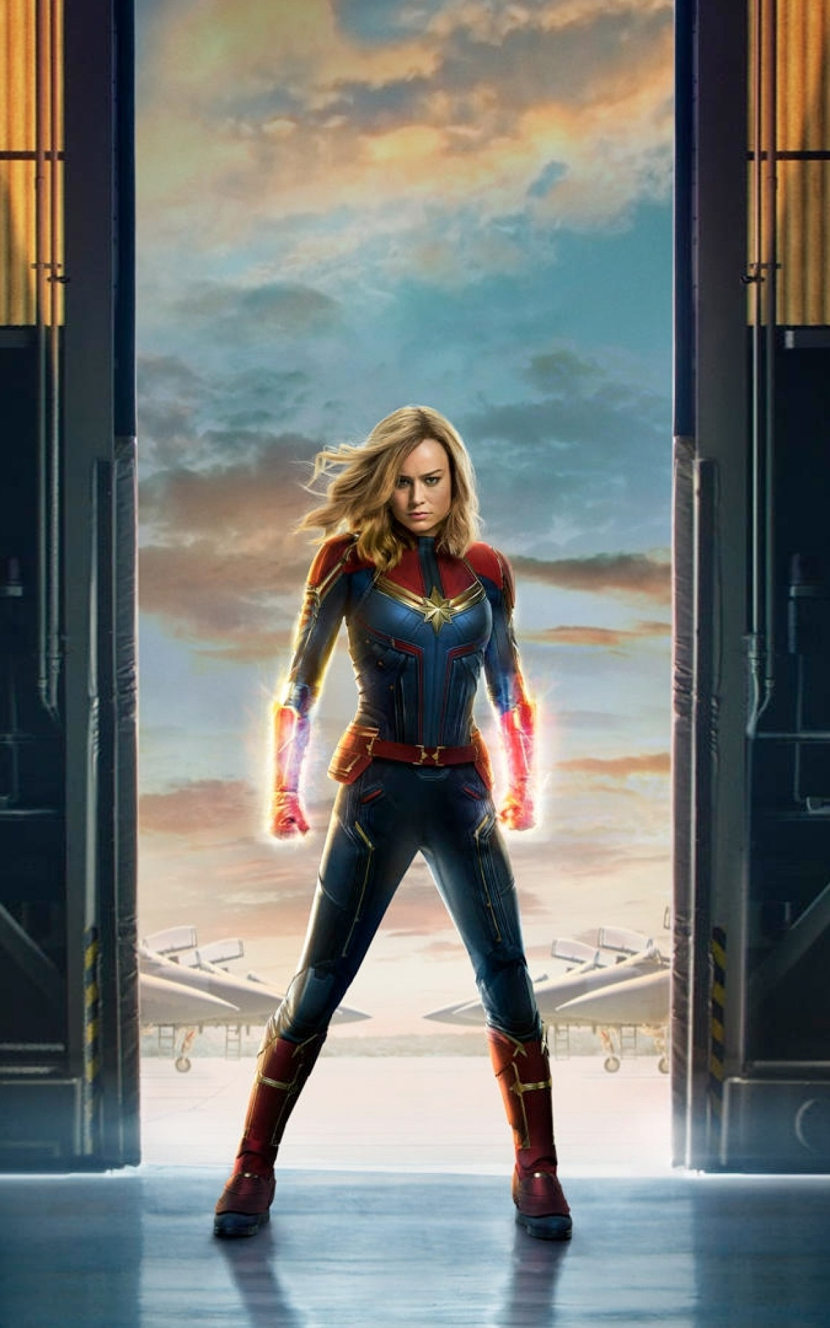Download 1200x1920 Captain Marvel Brie Larson Wallpapers for Asus 1200x1920