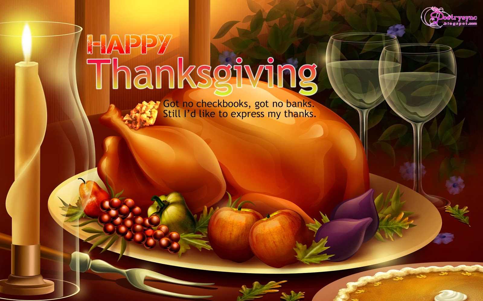 Best Thanksgiving Wallpaper Wallpapersafari