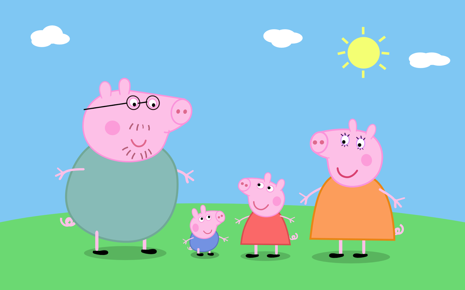 Il blog di Peppa Pig Sfondi Wallpaper di Peppa pig 1600x1000