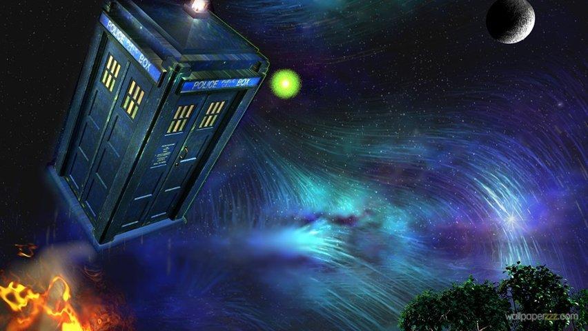 Download TARDIS HD Wallpaper Wallpaper 852x480