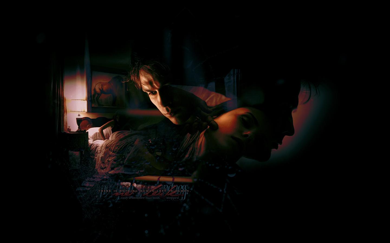 Damon Elena   The Vampire Diaries Wallpaper 8415355 1440x900
