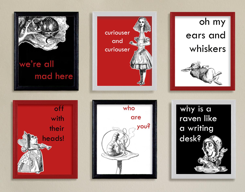 Alice In Wonderland Wallpaper Quotes Wallpapersafari