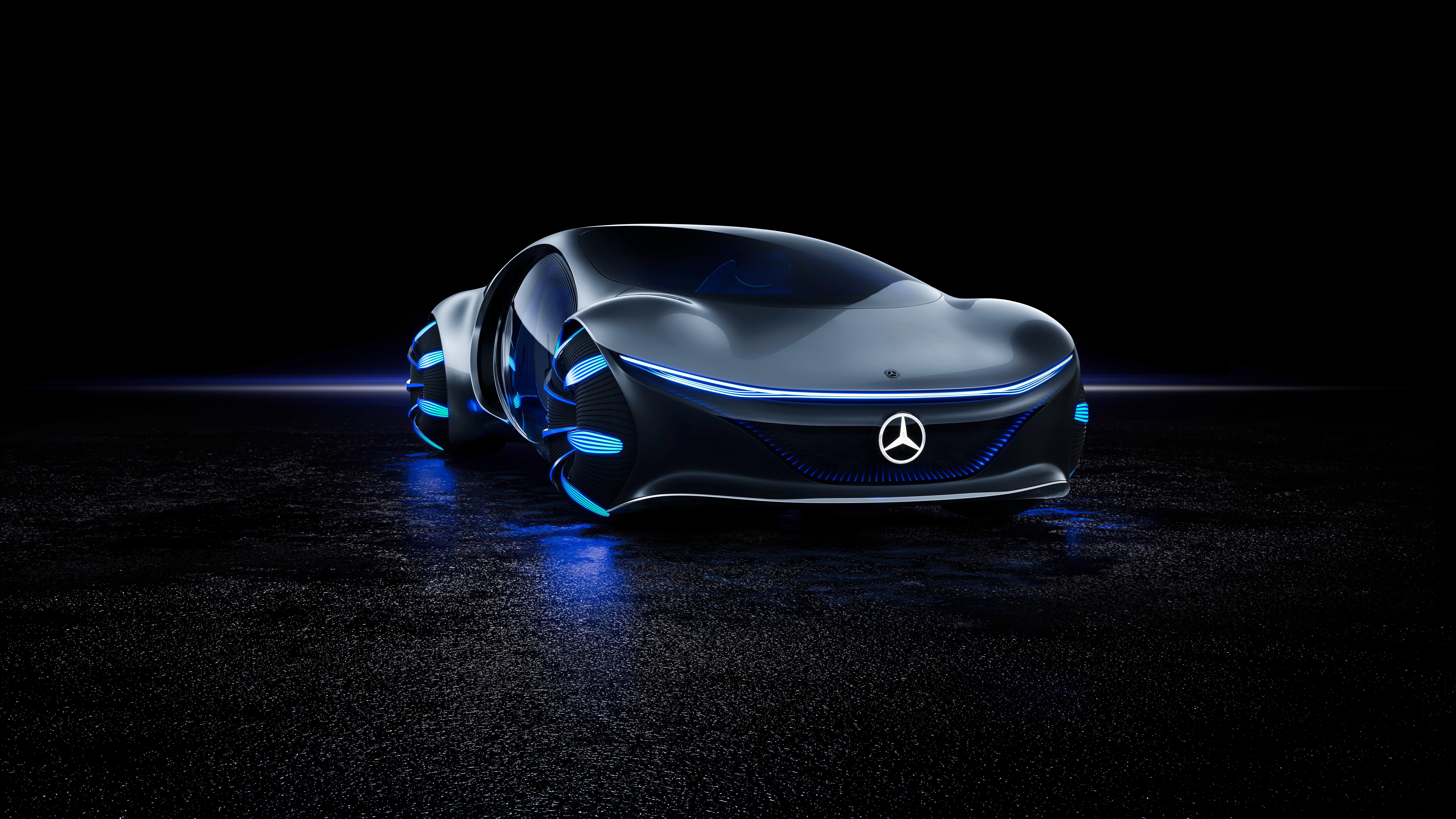 Mercedes Benz VISION AVTR 2020 4K 8K 4 Wallpaper HD Car 7680x4320