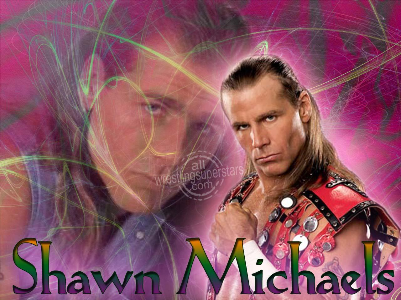 WWE Hot Wallpapers Wwe Wallpapers Hbk Shawn Michaels 1280x960
