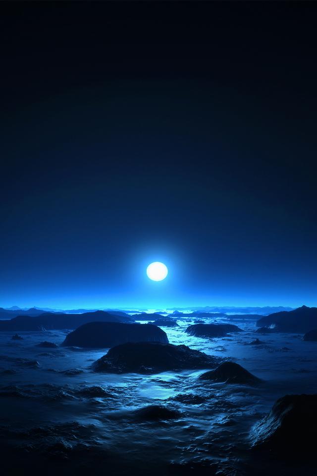 Frozen Tundra   iPhone Wallpaper 640x960