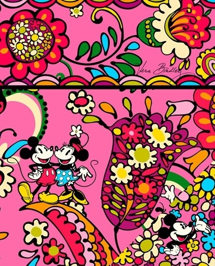 Pinterest Discover And Save Creative Ideas: Disney Vera Bradley Wallpaper