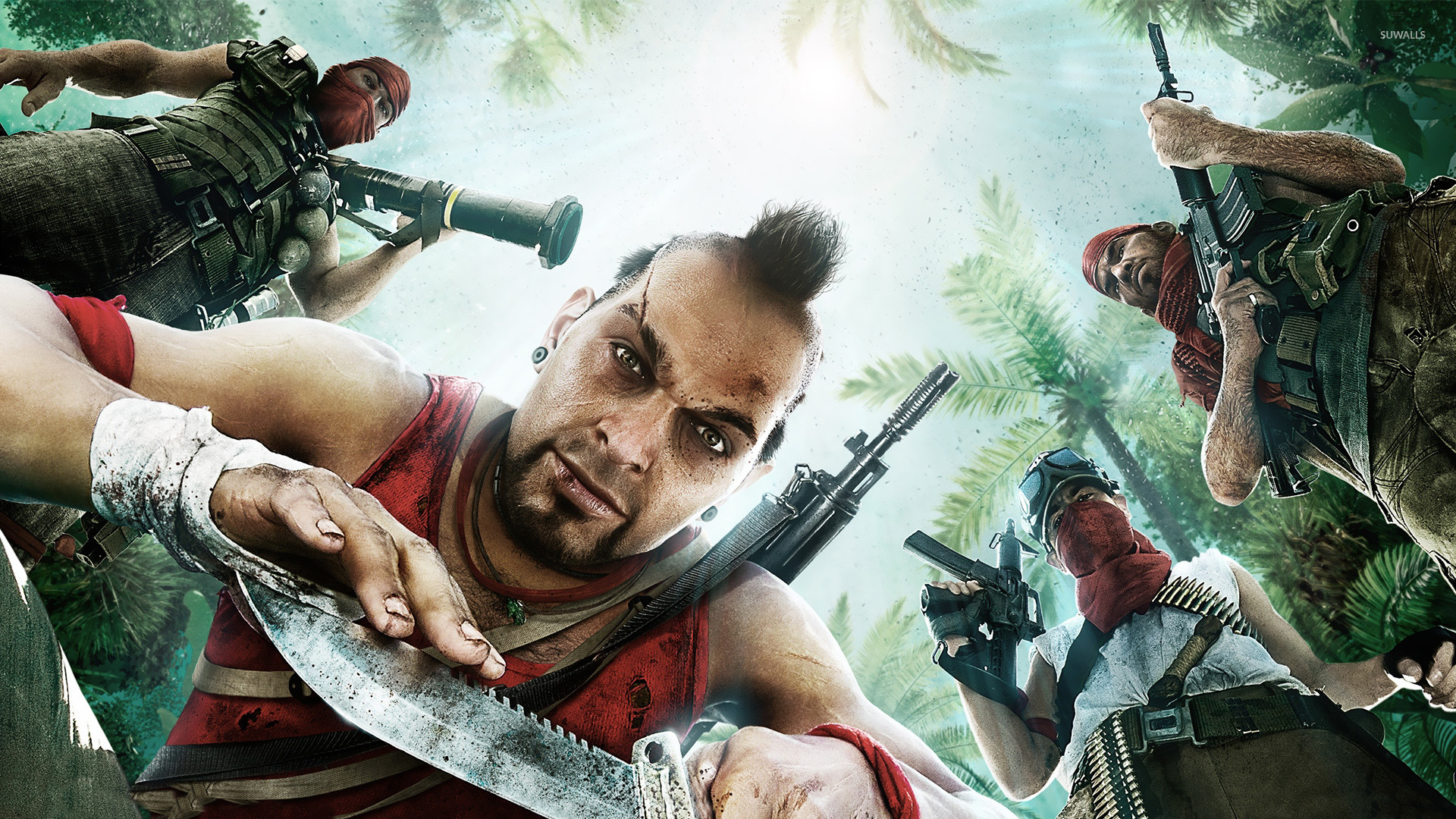 Vaas   Far Cry 3 wallpaper   Game wallpapers   16019 1920x1080