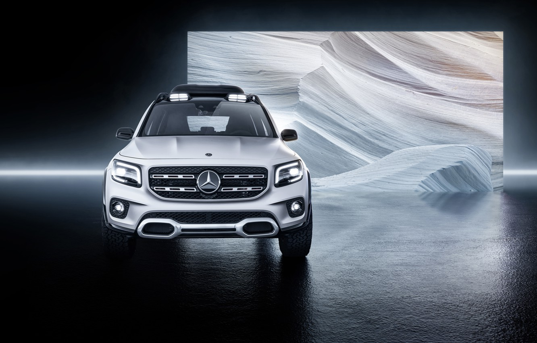 Wallpaper Concept Mercedes Benz 2019 GLB images for desktop 1332x850