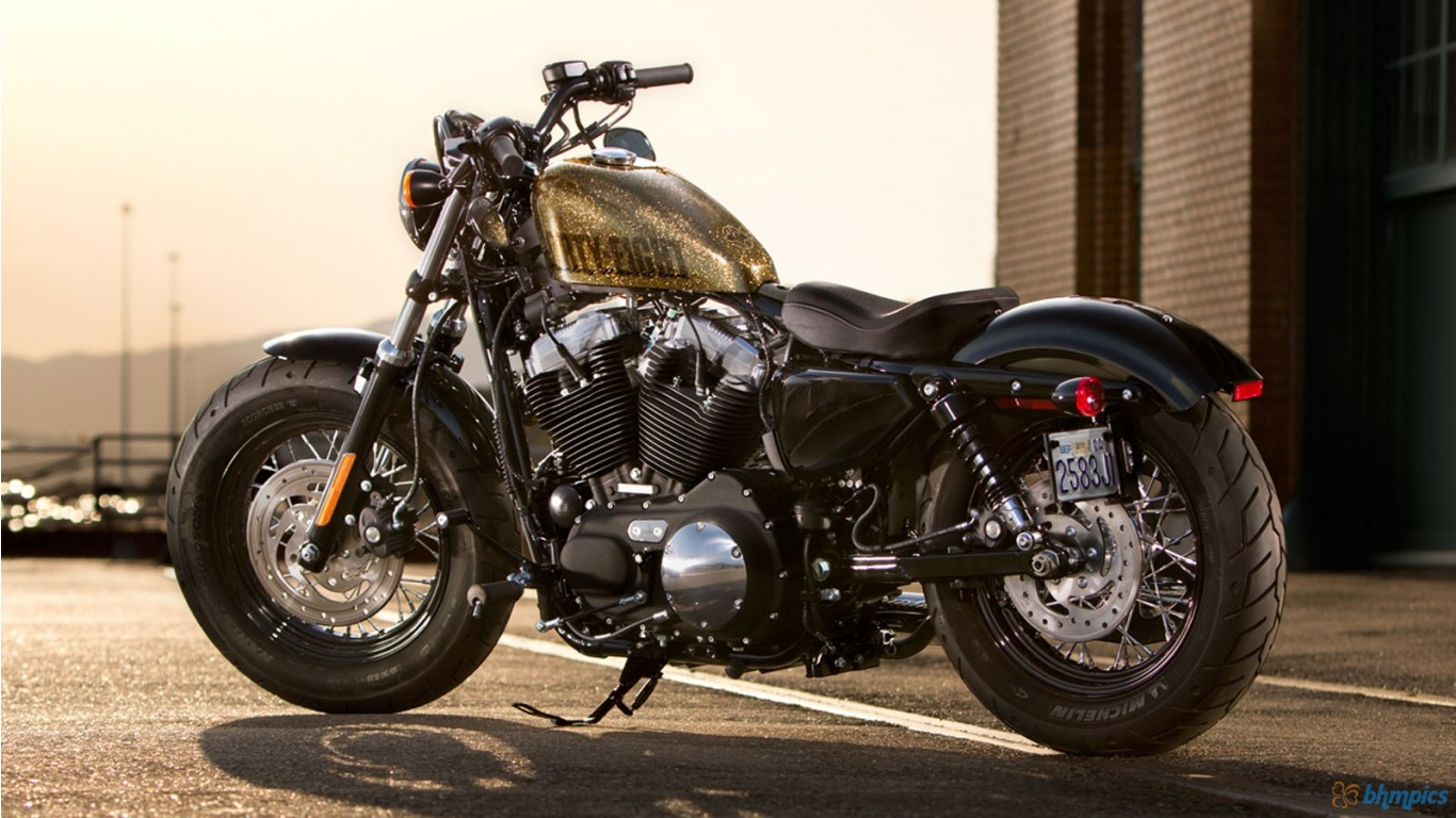 2013 Harley Davidson XL1200X Sportster Forty Eight Wallpapers 1366x768