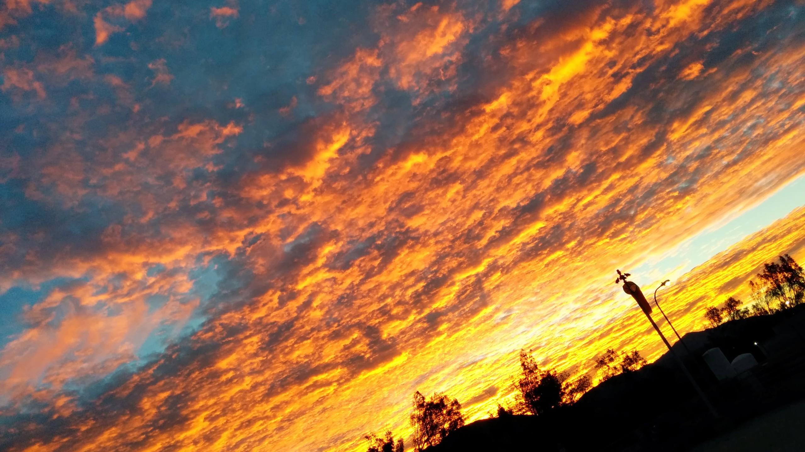 BOTPOST] Sunrise on a Helipad Sylmar California iimgurcom 2560x1440