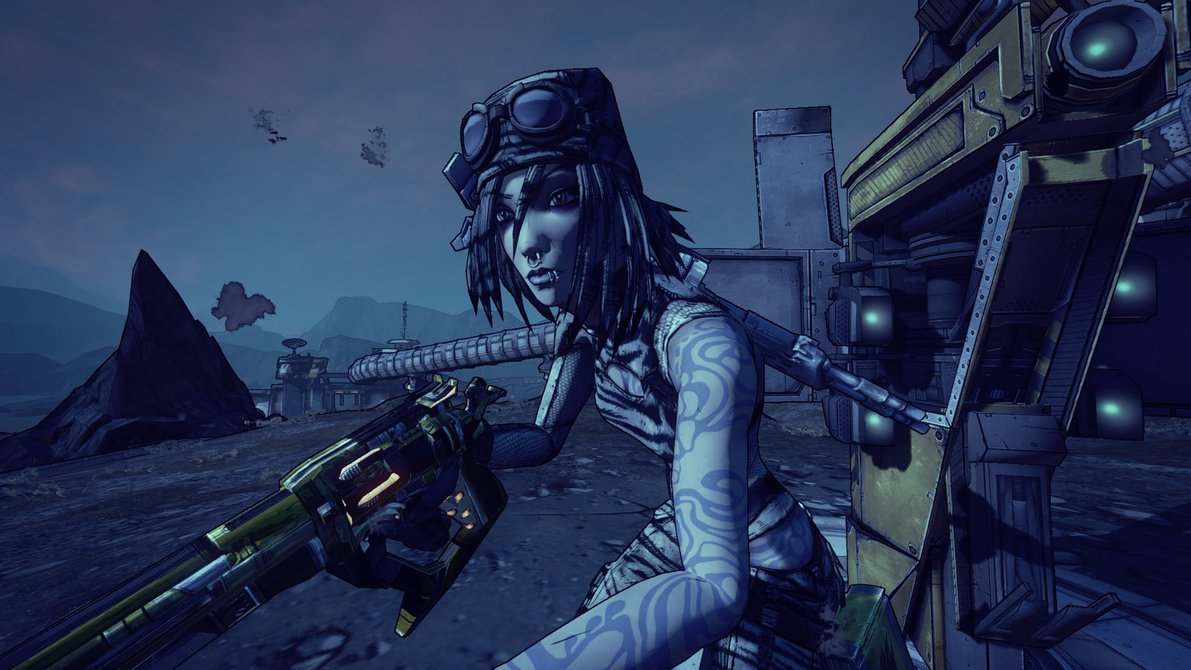 Maya from borderlands 2 by lordLKkamikaze 1191x670