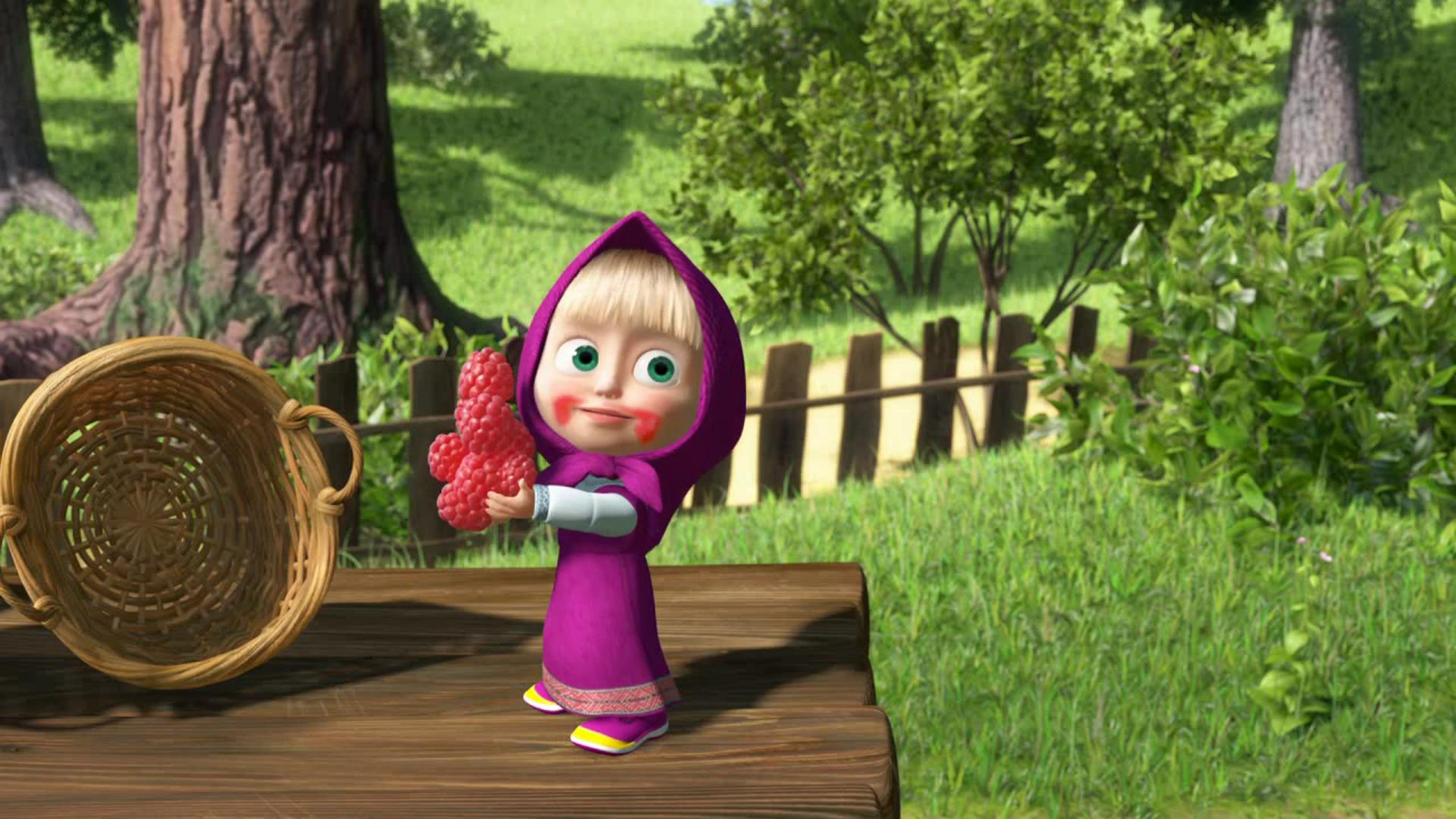 Free Download Masha And The Bear Wallpapers And Background Images Stmednet 1920x1080 For Your Desktop Mobile Tablet Explore 44 Masha Background Masha Background
