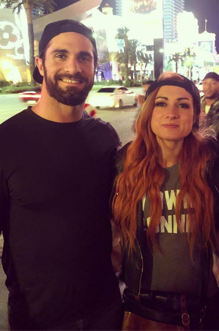 Becky Lynch Seth Rollins Could Be WWEs Newest Real Life Couple 716x1079