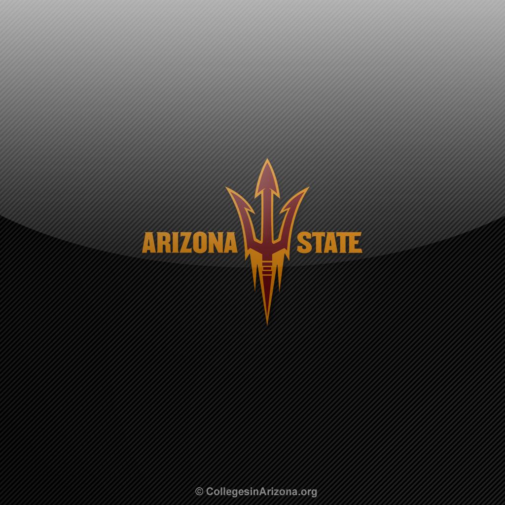 Arizona State ASU Sun Devils iPad Wallpapers   Colleges in Arizona 1024x1024