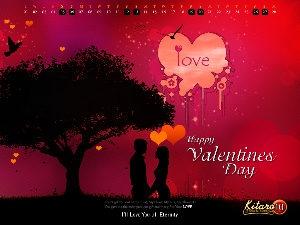 Beautiful and Romantic Valentines Day HD Wallpapers 13 1024x768