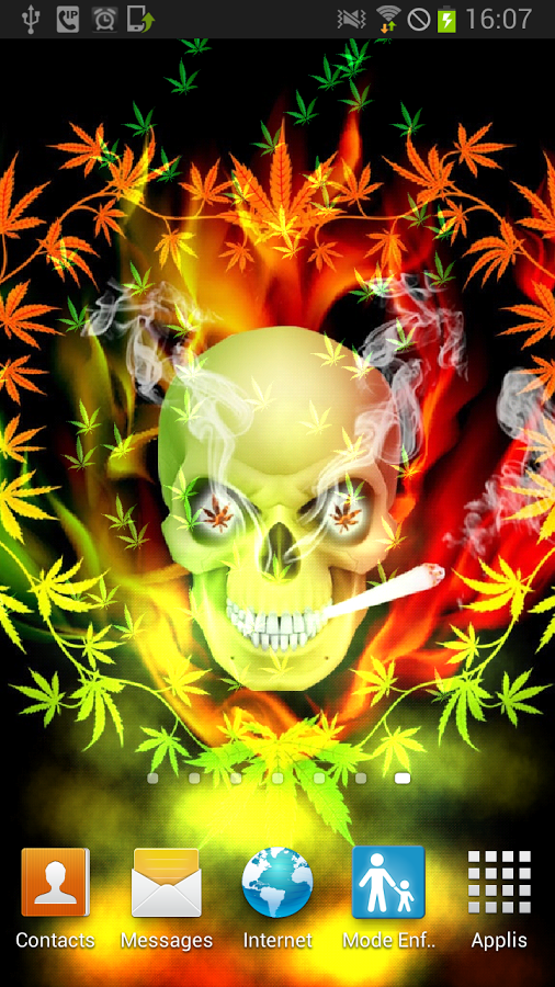 Skull Smoke Weed Parallax LWP   Android Apps on Google Play 506x900