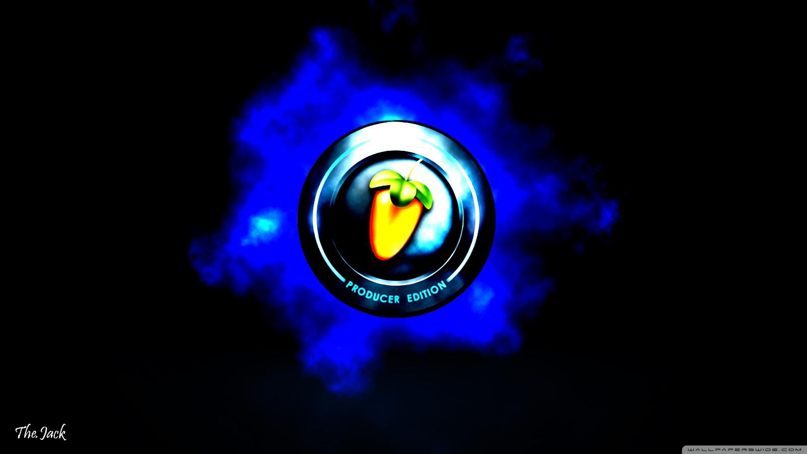 FL Studio Logo BG 4K HD Desktop Wallpaper for 4K Ultra HD TV 1600x900