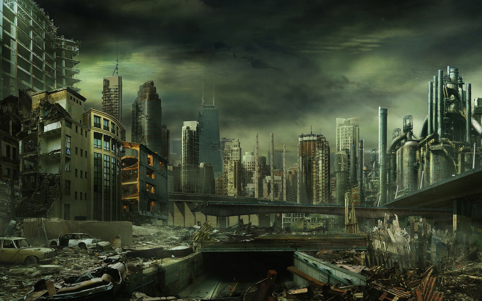 Dark City Wallpapers 1600x1000 pixel City HD Wallpaper 39421 1600x1000