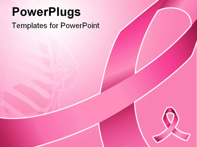 Breast cancer awareness backgrounds wallpapersafari for Free breast cancer powerpoint presentation templates