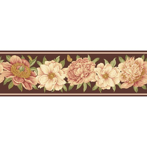 Wall Border Brown Home Garden Household Appliances Wallpaper Steamers 500x500