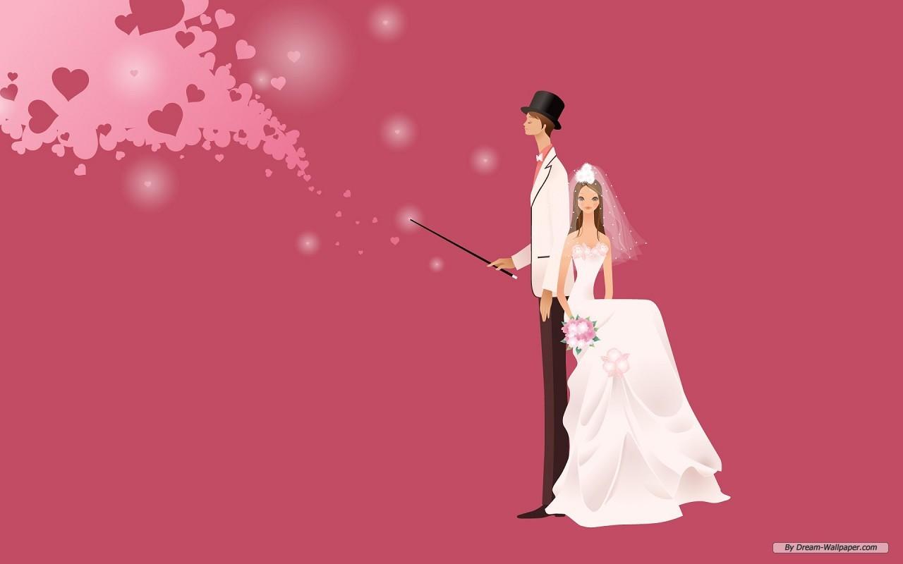 Animated Wedding   Weddings Wallpaper 31771382 1280x800