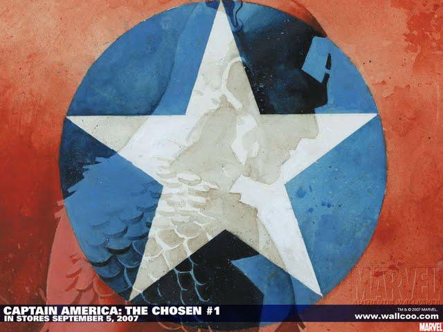 comics captain america wallpapers captain america the chosen comic 640x480