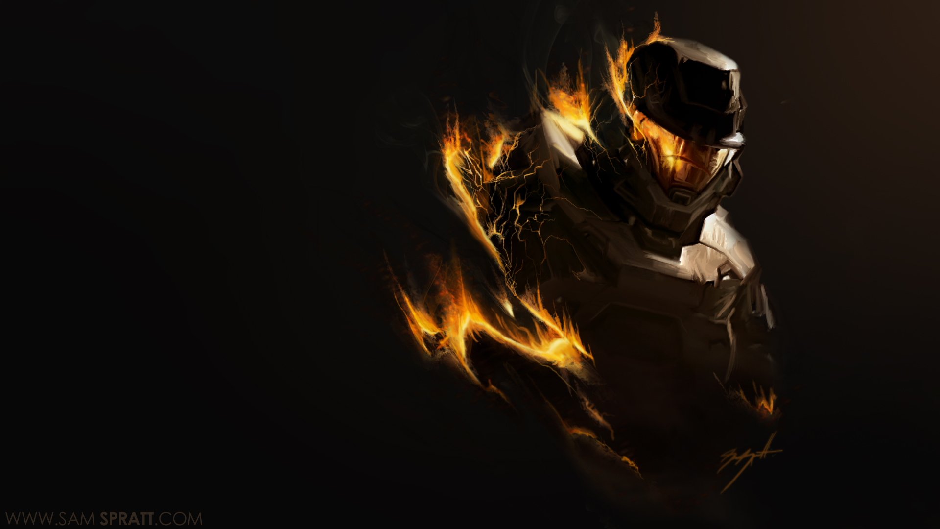 halo reach wallpaper black background chief winter remember 1920x1080