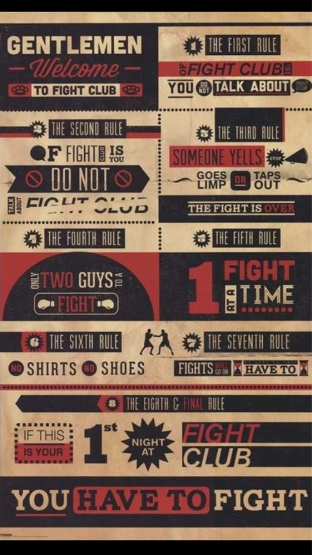 Fight Club Poster IPhone 5 Wallpaper 640x1136
