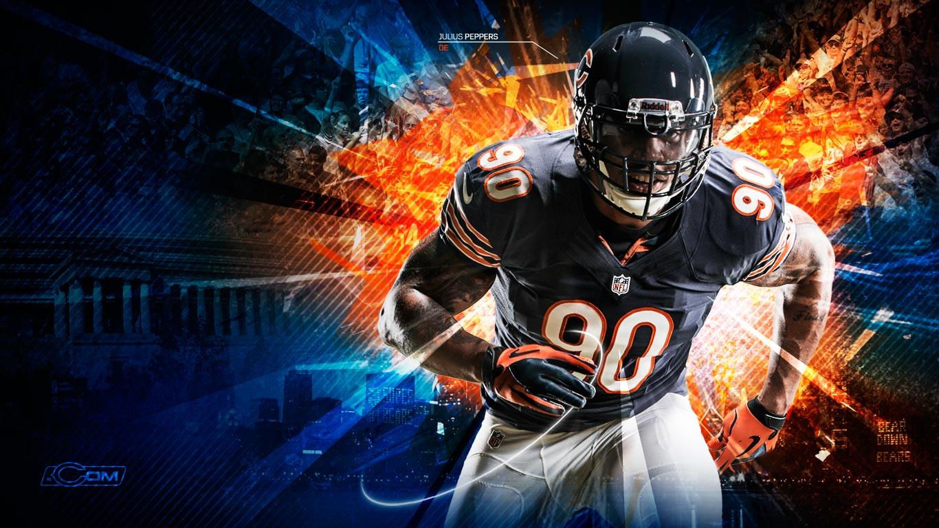 Chicago Bears 2012 wallpaper 1366x768