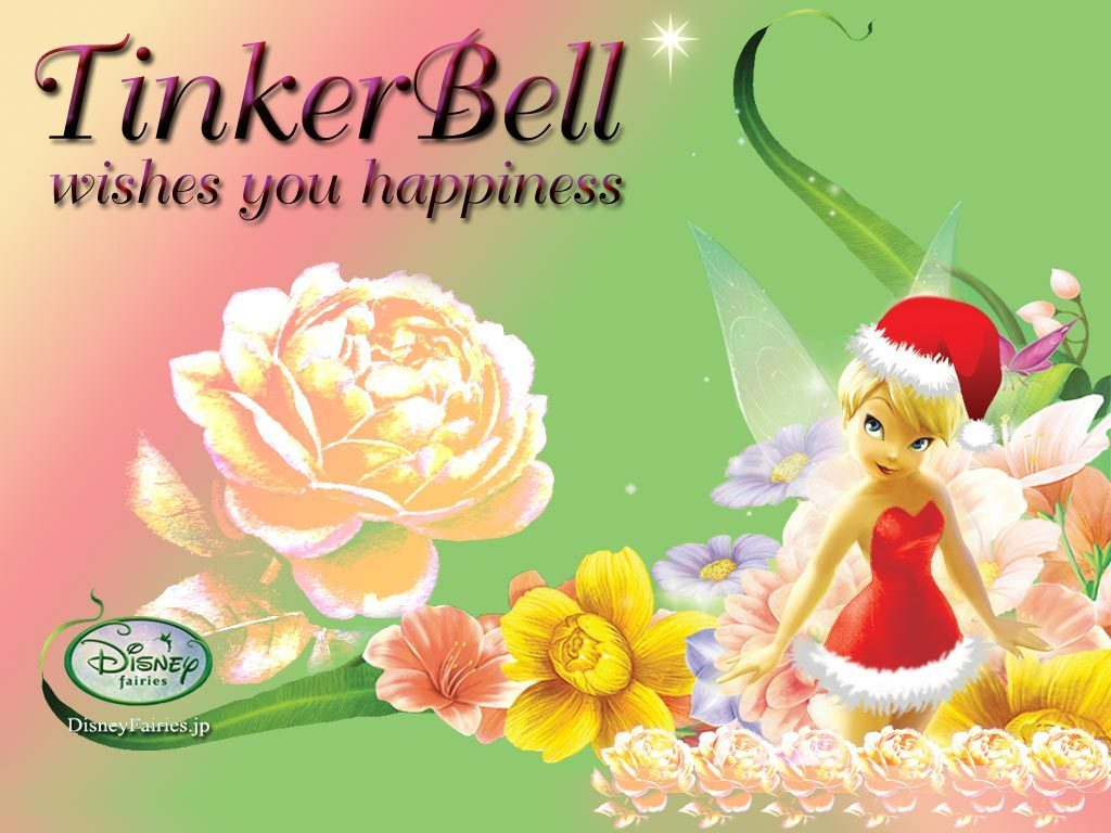 Disney Fairies TinkerBell wallpaper 1024x768