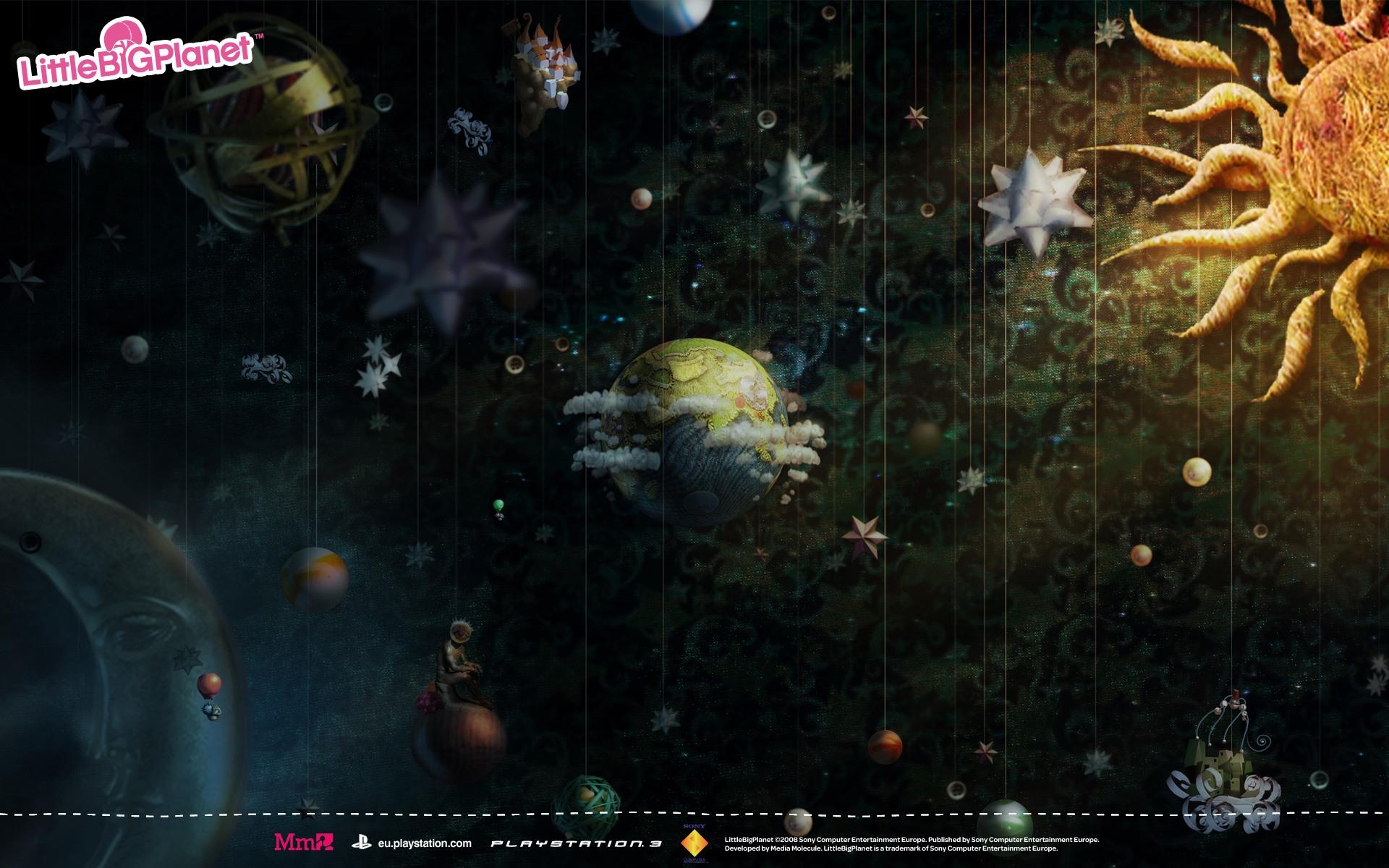 графика игры The Little Big Planet graphics game  № 1878141 бесплатно