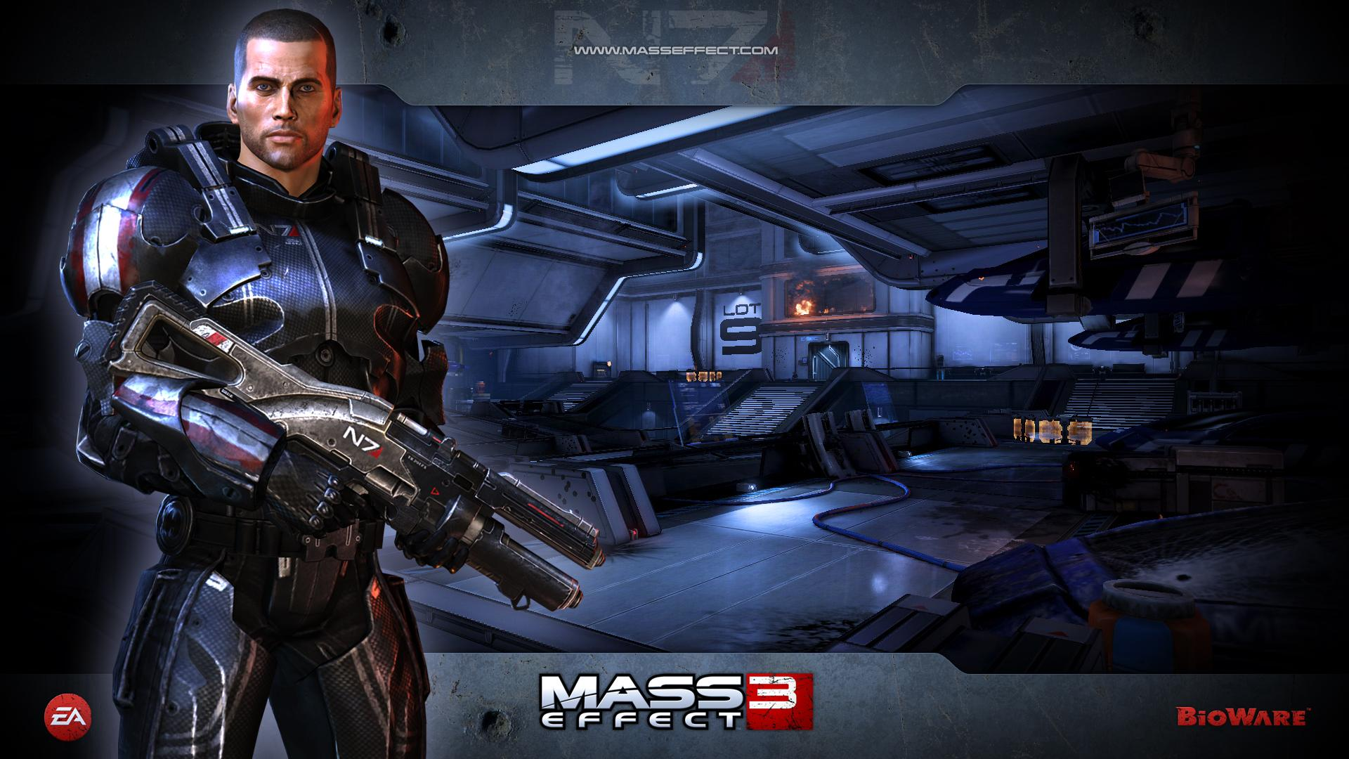 10 Cool Mass Effect 3 Wallpapers 1920x1080