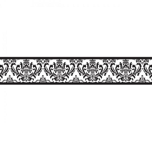 Black And White Wallpaper Border Home Design Ideas 600x600