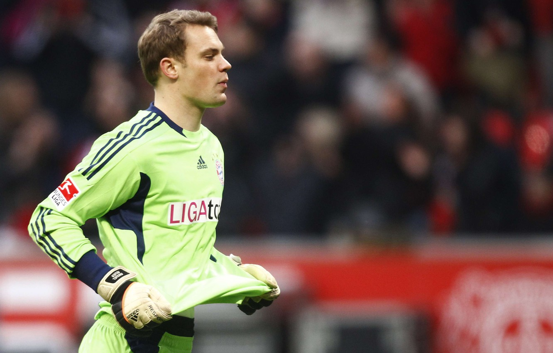 Wallpaper man football Manuel Neuer goalkeeper FC Bayern 1332x850
