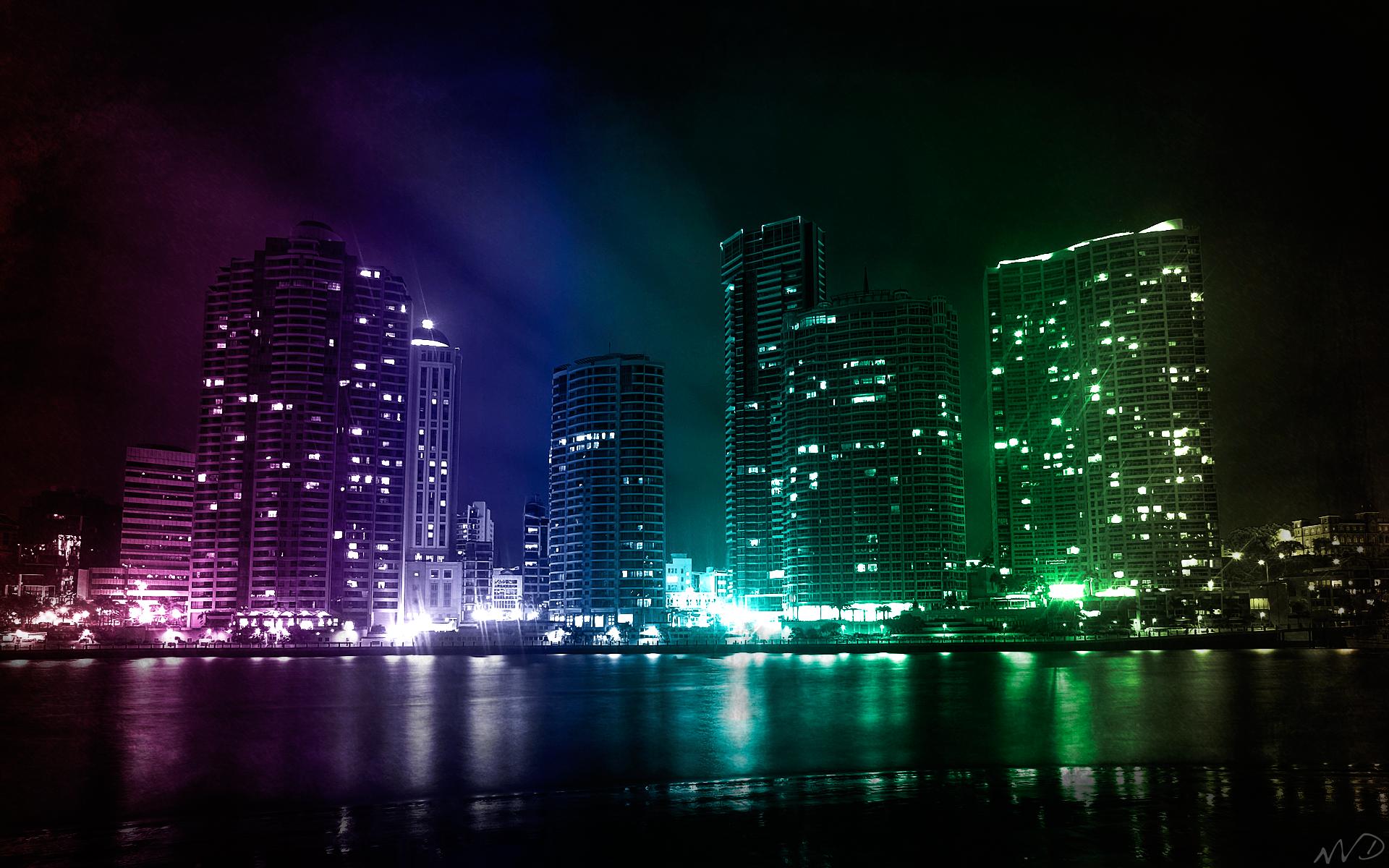 City Lights HD Wallpapers 1080p 1920x1200