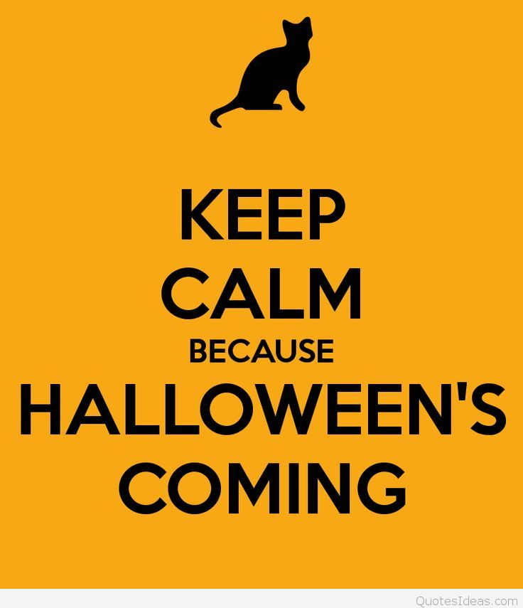 Keep Calm wallpaper Halloween is coming 736x855