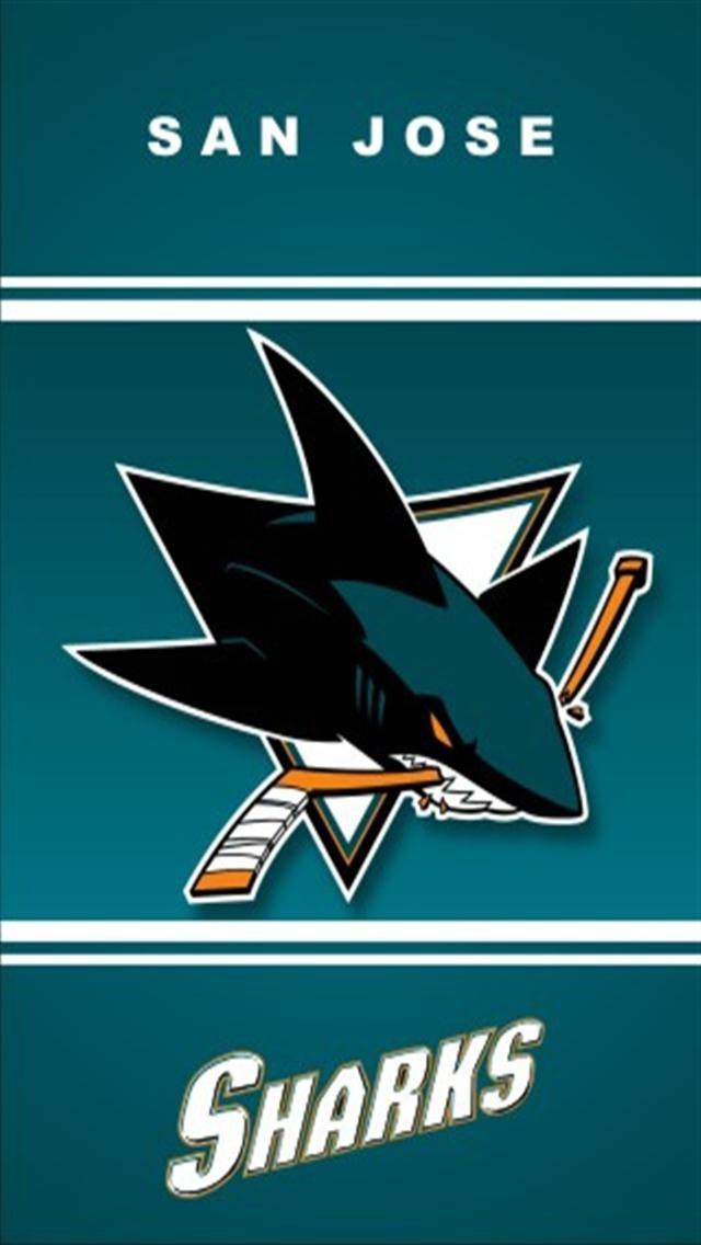 San Jose Sharks Sports iPhone Wallpapers iPhone 5s4s3G 640x1136