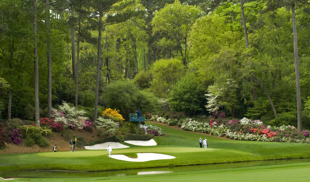 ... , and 13th holes in the 1958 Masters. Uploaded by phillivingston.com