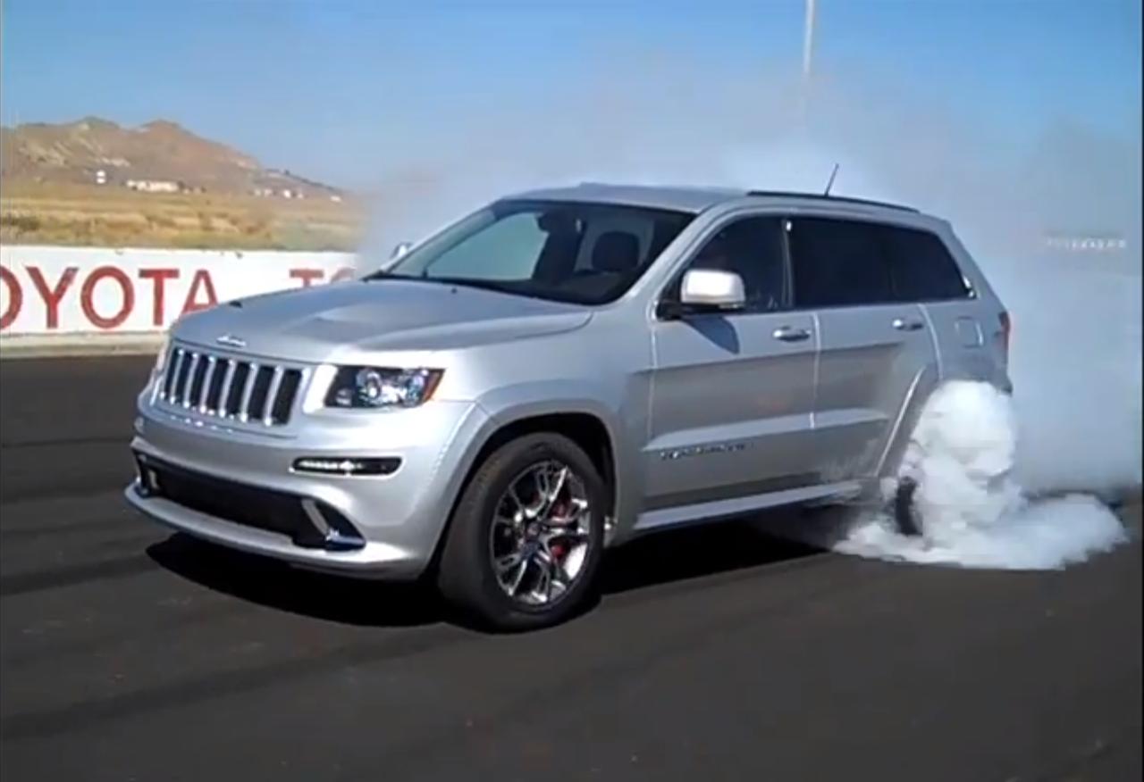 99 WALLPAPERS Burnout Video 2012 Jeep Grand Cherokee SRT8 1280x876