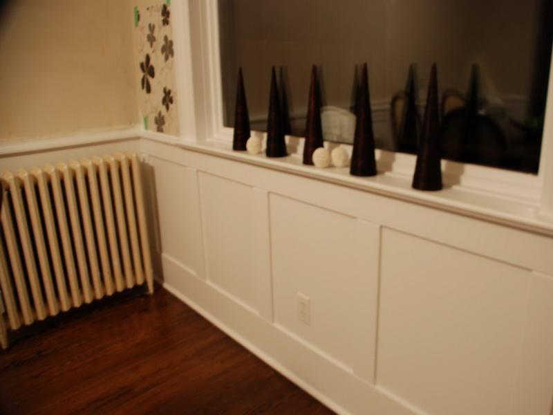 Walls Simple Ways To Install Faux Wainscoting Wallpaper Brick Wall 800x600